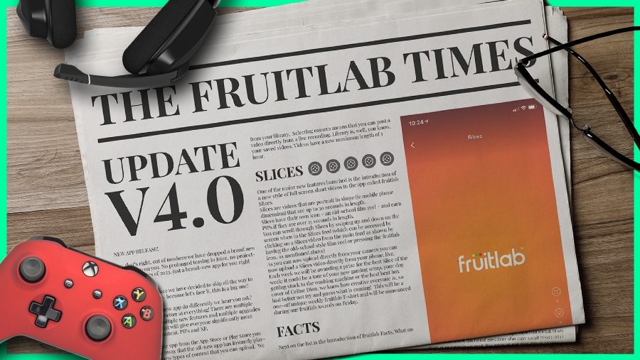 The fruitlab Times - A Completely New App!