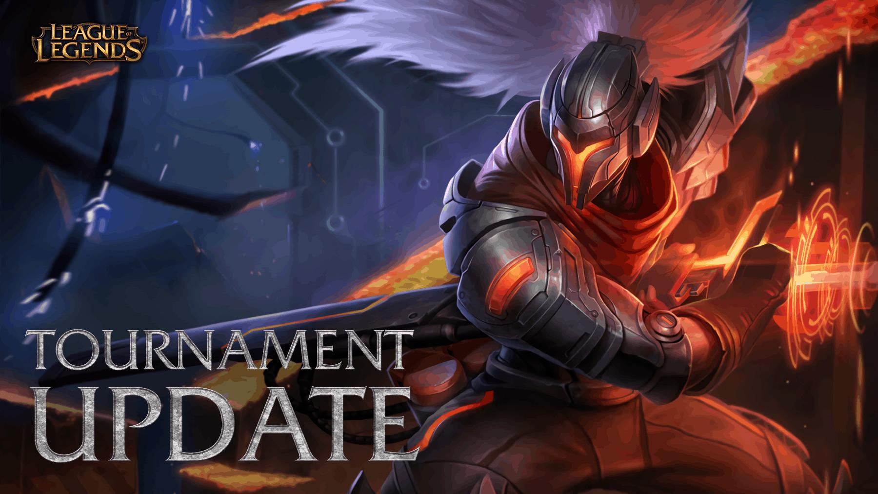 League of Legends Tournament Update