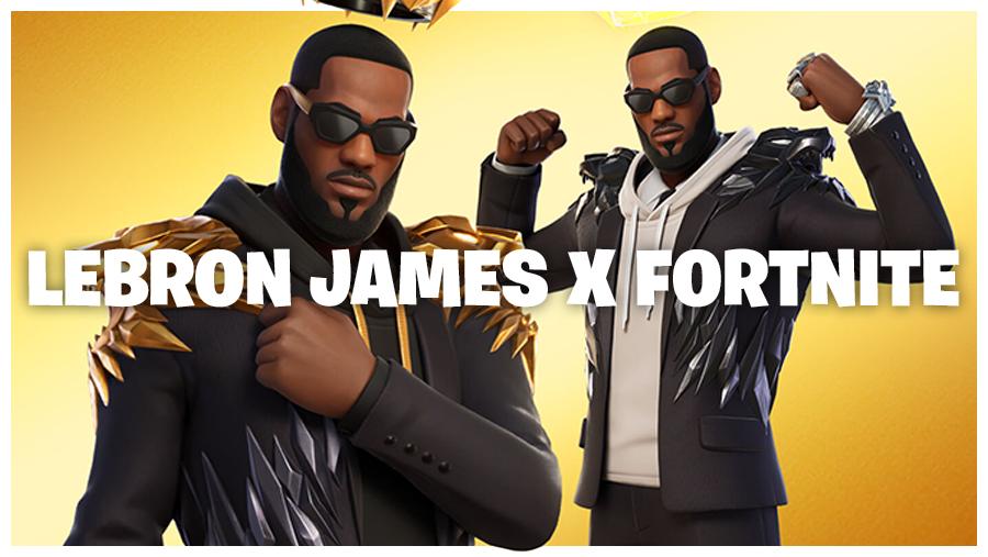 LeBron James In Fortnite