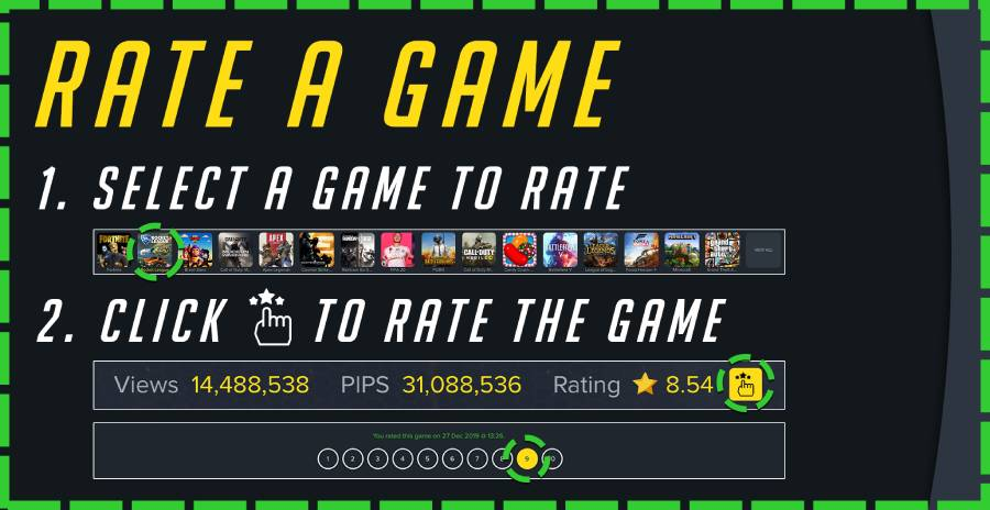 rate a game