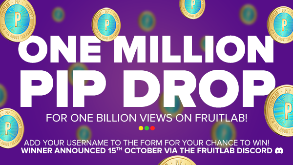1 Billion Views PIP Drop