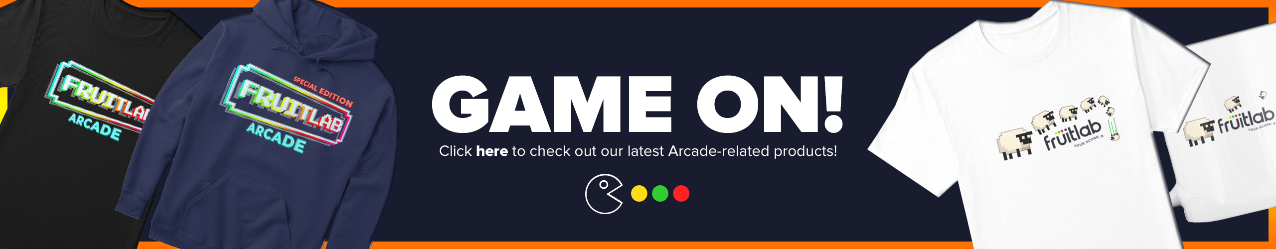 Arcade-related products have arrived!