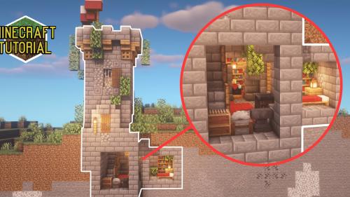 Minecraft Starter Survival House Minecraft Tutorial Easy Fruitlab